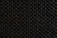 JET BLACK WOOL SISAL